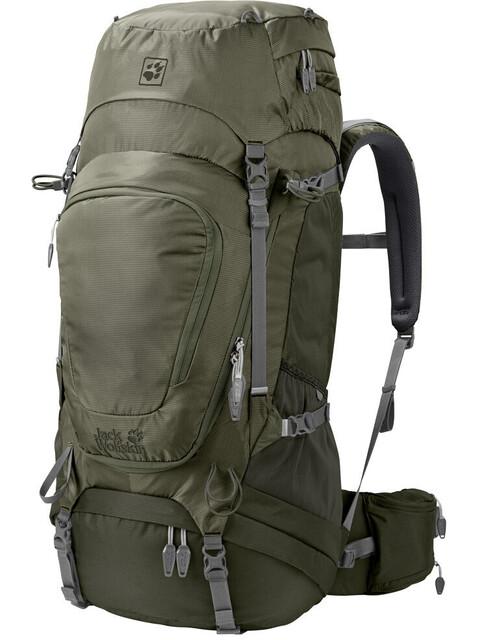Jack Wolfskin Highland Trail XT 50 Backpack woodland green